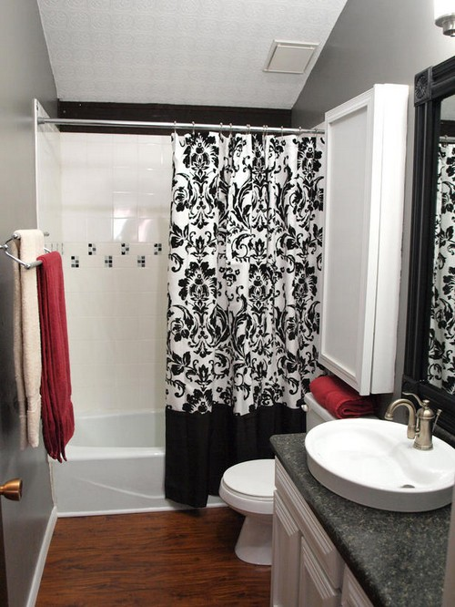 Black and white bathroom ideas gallery