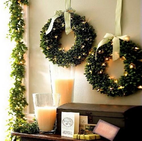 Wreaths Wreath Front Door Wreaths Boxwood Wreath