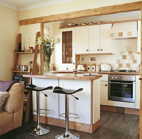 Small kitchen with peninsula ideas
