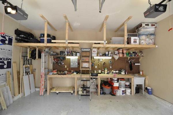 Free Garage Folding Workbench Plans   Shed Plans